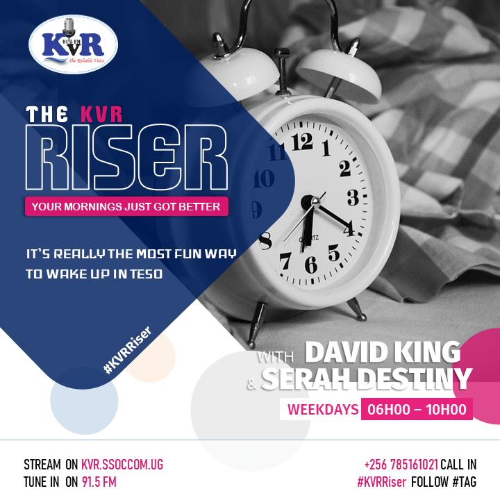 Kyoga Veritas Radio. The #KVRRiser (23.04.21) - Sarah Destiny & David King